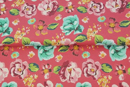Sweat Bouclette DIGITAL -fleurs