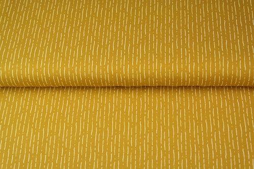 Popeline coton lignes