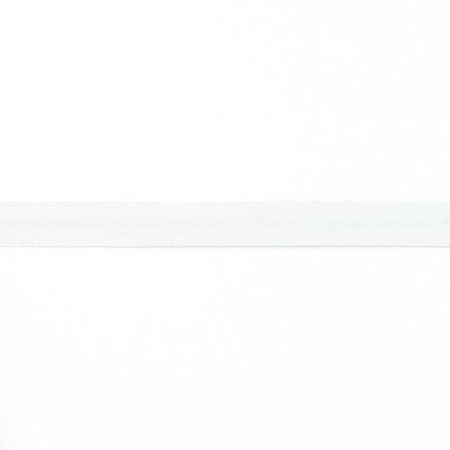 Biais coton Double Gaze - 20mm - Blanc