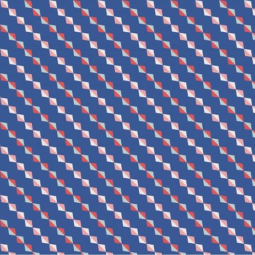 Jersey losanges Bleu