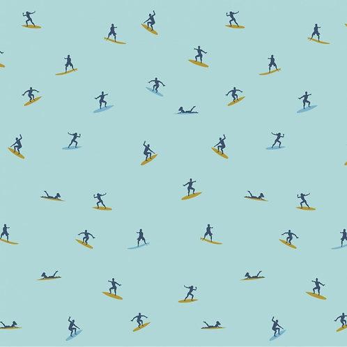Jersey surfeurs Bleu