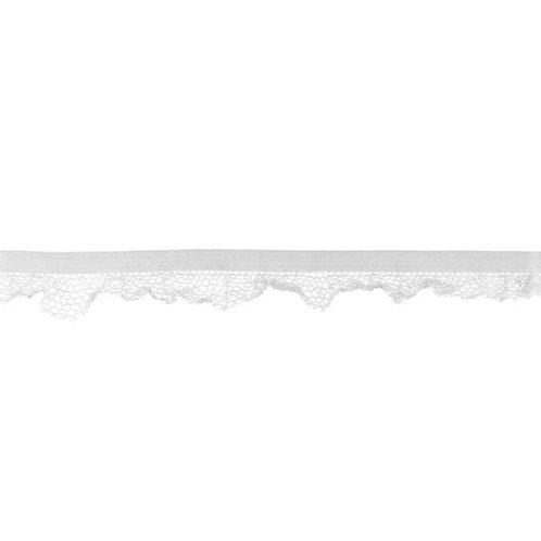 Elastique Dentelle 14MM - Gris clair