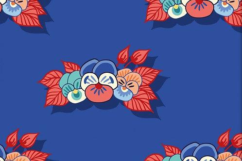 Sweat Bouclette-  Bouquet de fleurs