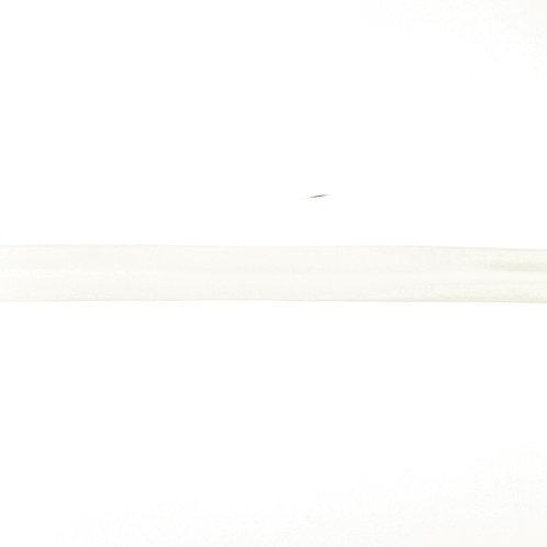 Biais popeline de coton - 20mm - Blanc cassé