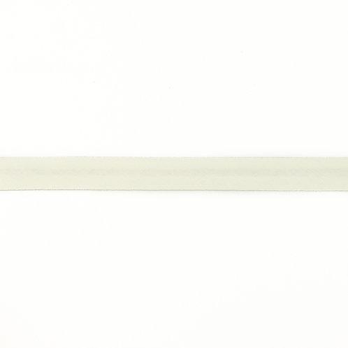 Biais coton Double Gaze - 20mm - Blanc cassé