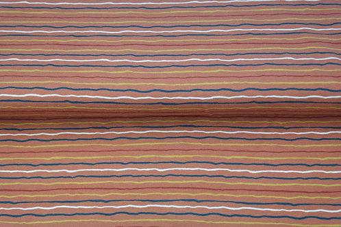 Jersey lignes Rouille