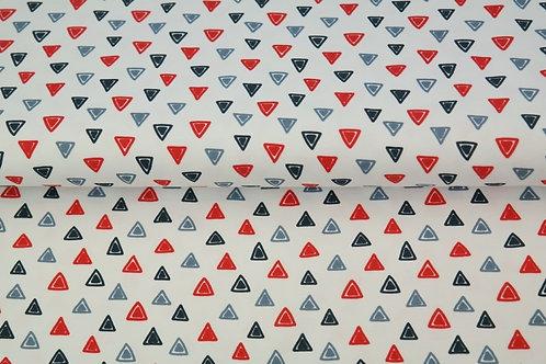 Jersey triangles - Blanc