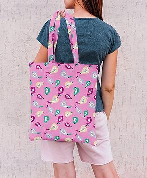 sac coton enduit rose femme.jpg