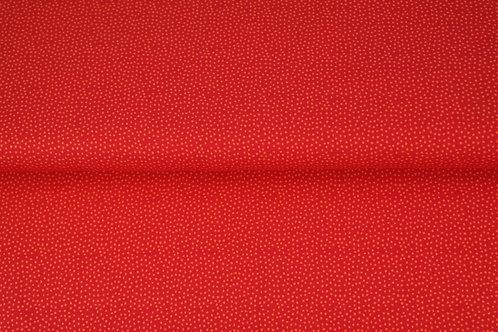 Sweat Bouclette rouge -petits points
