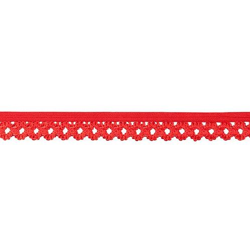 Elastique Dentelle 20MM - Rouge