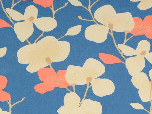 Viscose fleurs japonaises