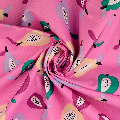 Tissu coton enduit - Poires