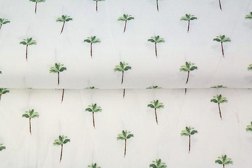 Popeline coton palmiers - impression DIGITALE