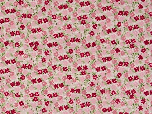Popeline coton Liberty Rose