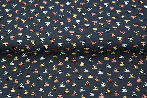 Jersey triangles - Noir