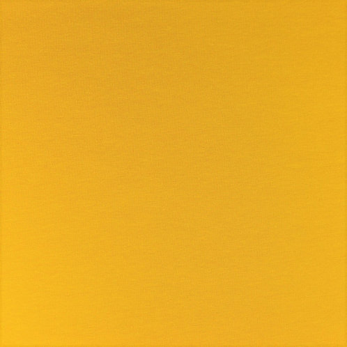 Jersey Uni jaune moutarde