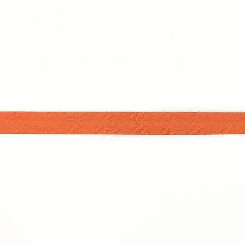 Biais coton Double Gaze - 20mm - Abricot