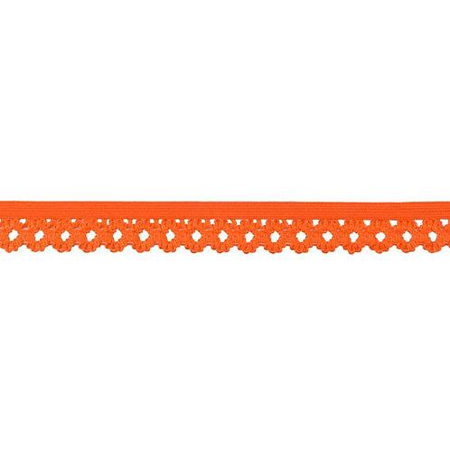 Elastique Dentelle 20MM - Orange