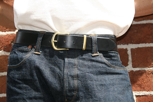 The City Slicker Leather Belt