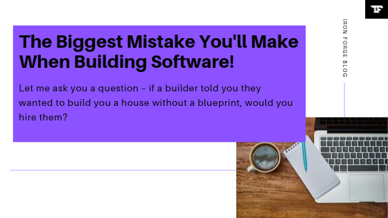 The Biggest Mistake You'll Make When Building Software!