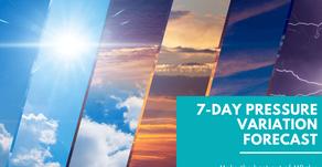 7-Day Pressure Variation Forecast