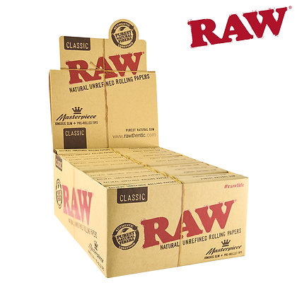 RAW MASTERPIECE KSS W/ PRE-ROLLED TIPS