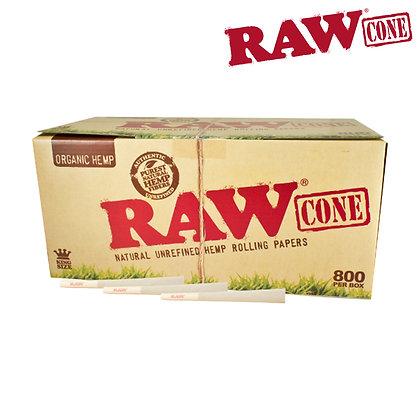 RAW ORGANIC PRE-ROLLED CONE KS – 800/PACK