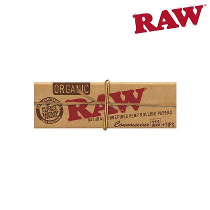 RAW ORGANIC HEMP 1¼ CONNOISSEUR W/ TIPS