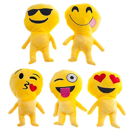 DUH - EMOJI PILLOW, 5 STYLES ASSORTED