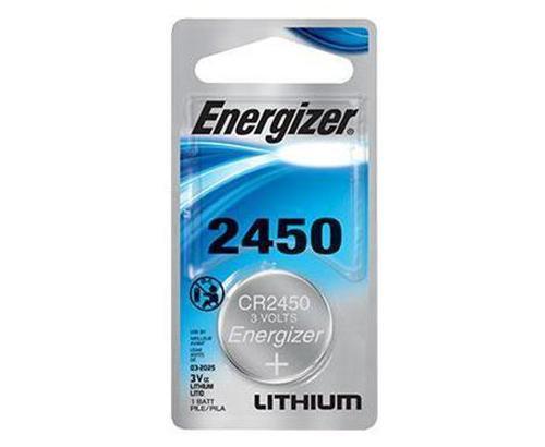 ENERGIZER - BATTERY - 2450 - 3v/1 LITHIUM