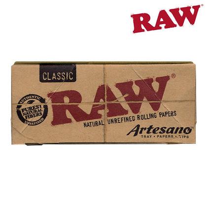 RAW ARTESANO KSS W/ TRAY, PAPERS, TIPS