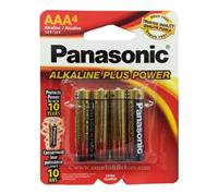 PANASONIC - ALKALINE BATTERY AAA-4 BA-4772