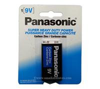 PANASONIC - Batteries - 9v/1PK