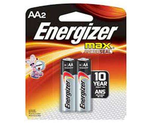 ENERGIZER - BATTERIES - MAX AAA/2