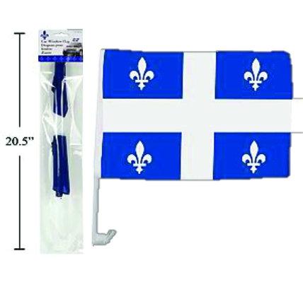FLEUR DE LYS CAR FLAG