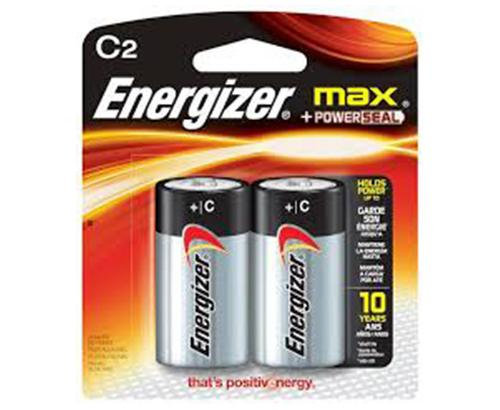 ENERGIZER - BATTERIES - MAX C2/2