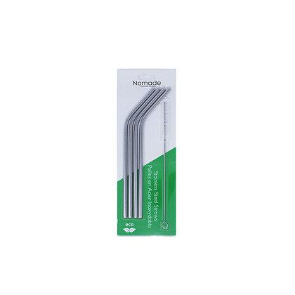 Stainless Steel Bent Straws