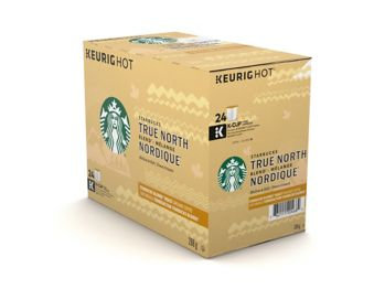 STARBUCKS K CUP (REC) TRUE NORTH 24 CT