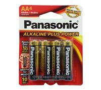 PANASONIC - ALKALINE BATTERY AA-4 BA-4772