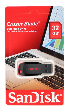 Kingston Flash Drive Cruzer Blade 32GB