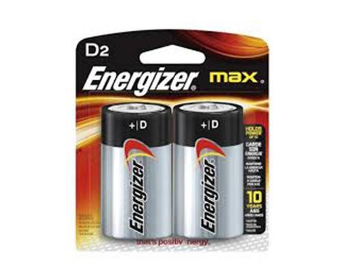 ENERGIZER - BATTERIES - MAX D2/2