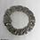 Thumbnail: Stainless Steel Heavy Fleur de Lis link Bracelet