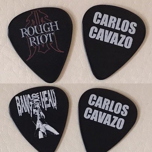CARLOS CAVAZO GUITAR PICKS
