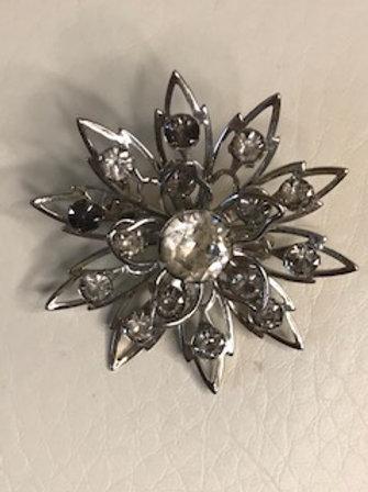 Vintage STARBURST Brooch Pin
