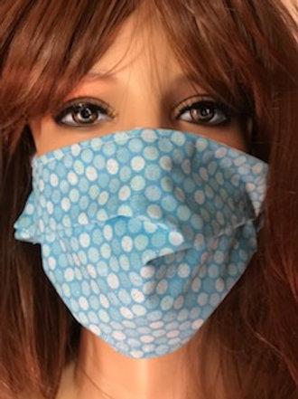 GLITTER SKY BLUE Face Mask