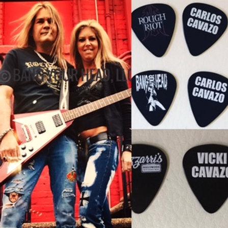 THE CAVAZO Autograph & Guitar Picks COMBO DEAL!