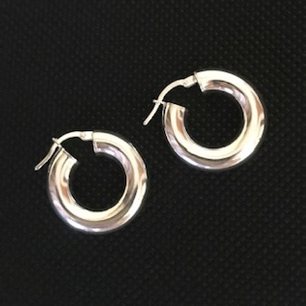 HOOP STERLING EARRINGS