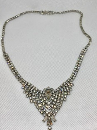 KRAMER OF NY Vintage Rhinestone Necklace