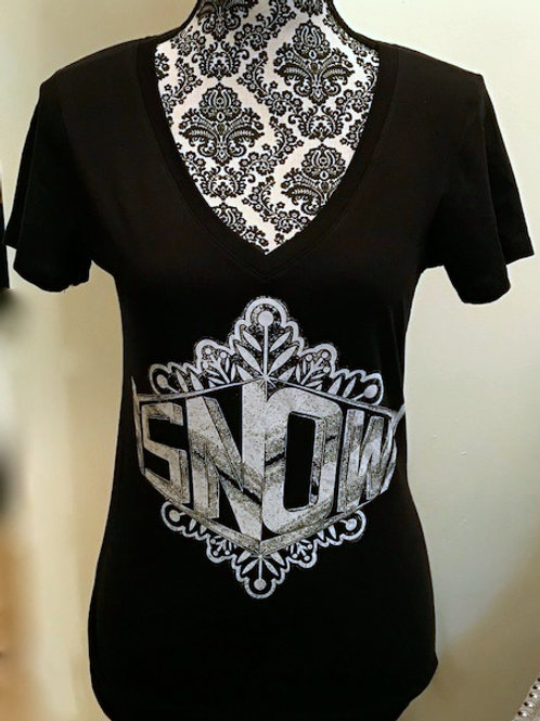 SNOW LADIES V-NECK TOP