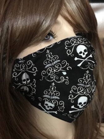 SKULL FILLIGREE Face Mask